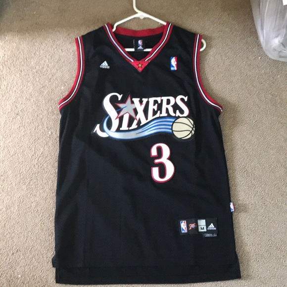 outlet store sale fe8fd baa24 Allen Iverson Adidas Jersey